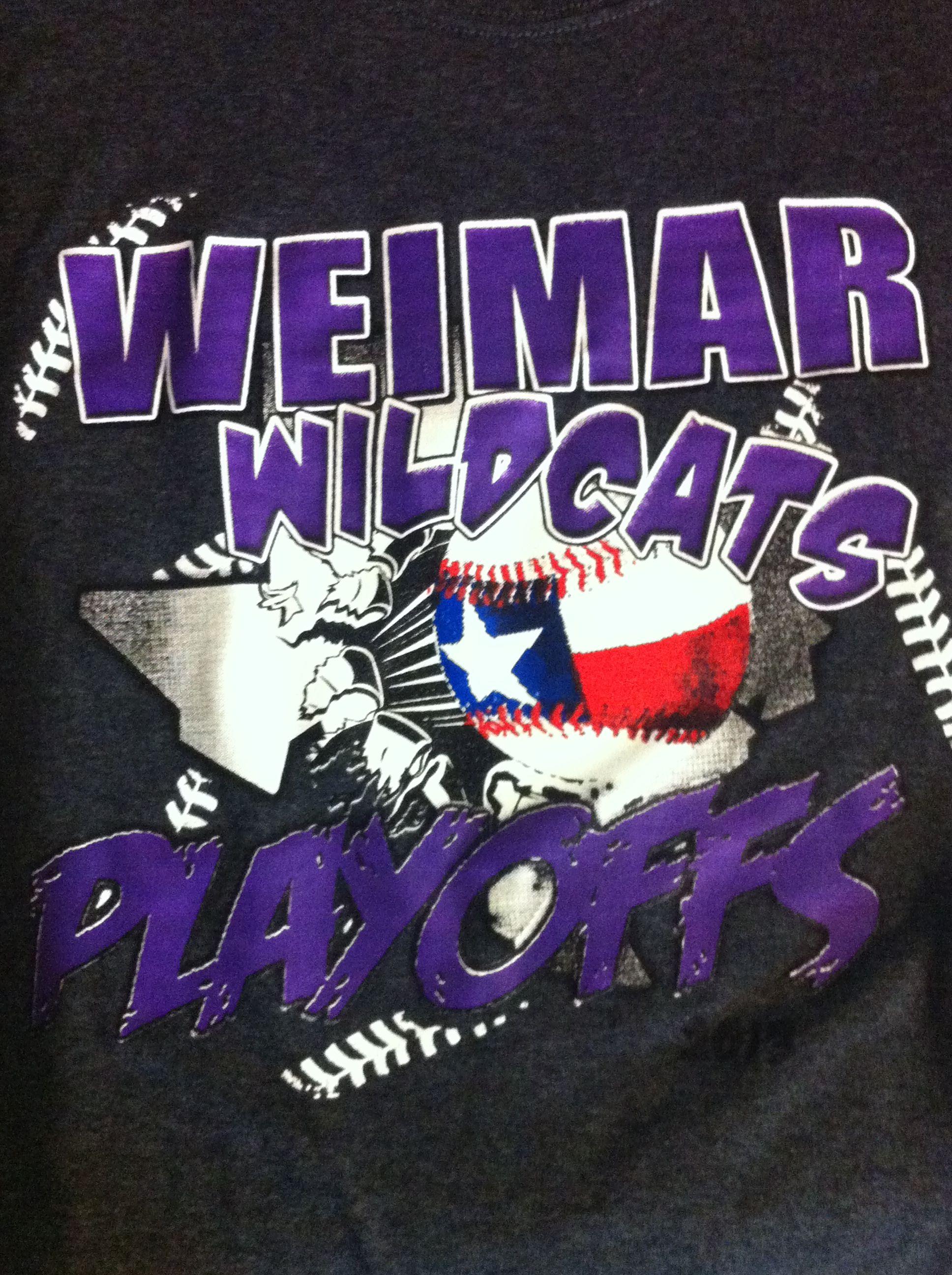 Weimar Wildcat Baseball Playoffs 2013 With Images Baseball Playoffs Wild Cats