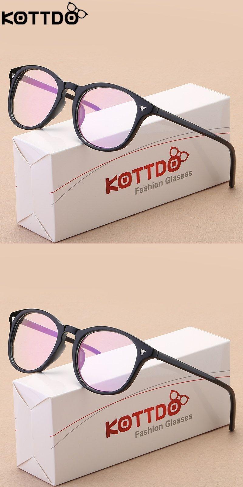 2676f56fb054 Retro round eyeglasses frame women brand designer fashion optical eye  glasses frames men computer eyewear oculos