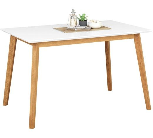 Esstisch mit Beinen aus Massivholz frischer Wind für Ihr