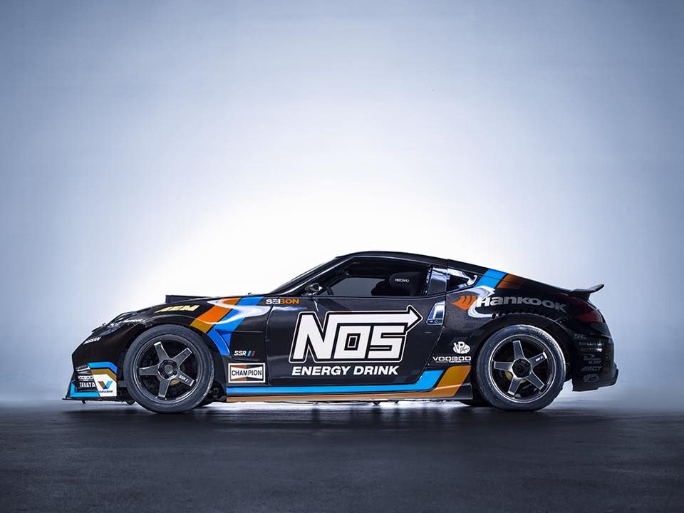 Nos Car: NOS Energy Drink Livery For A Drift Spec Nissan 350z