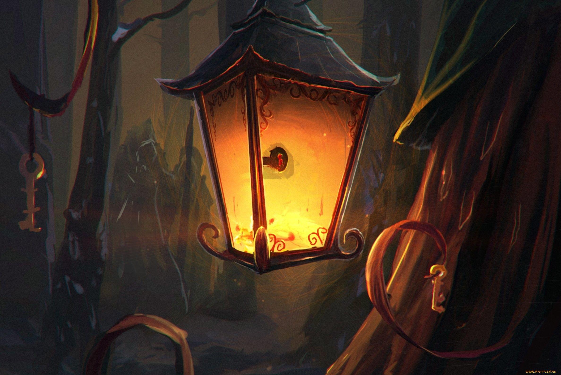 Сказка уличный фонарь в картинках