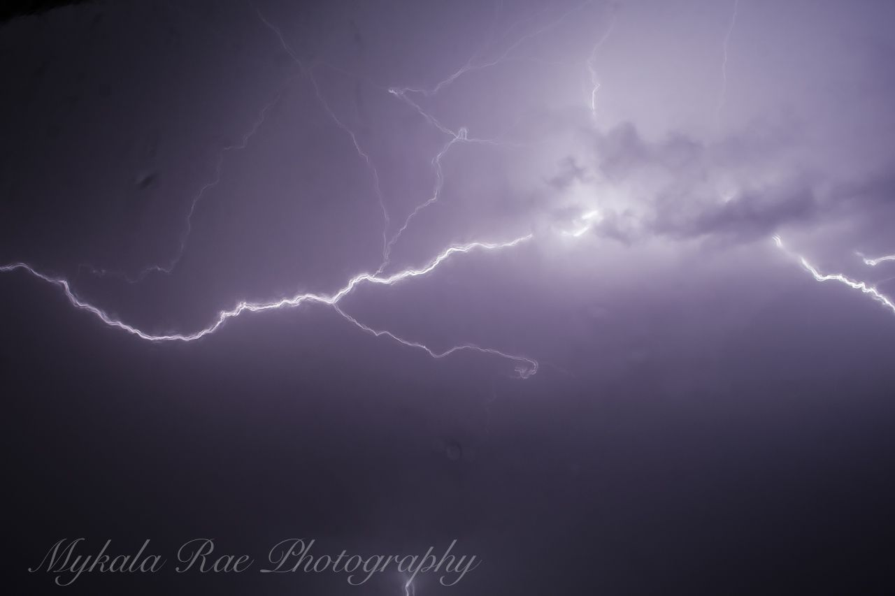 #Lightning #Storms #Kansas #MykalaRaePhotography