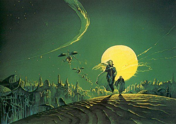 "ChrisP on Twitter: ""@70sscifiart @redtache His art decorated the bits of my teenage bedroom wall not covered by Bruce Pennington posters https://t.co/8fll9QEpEE"""