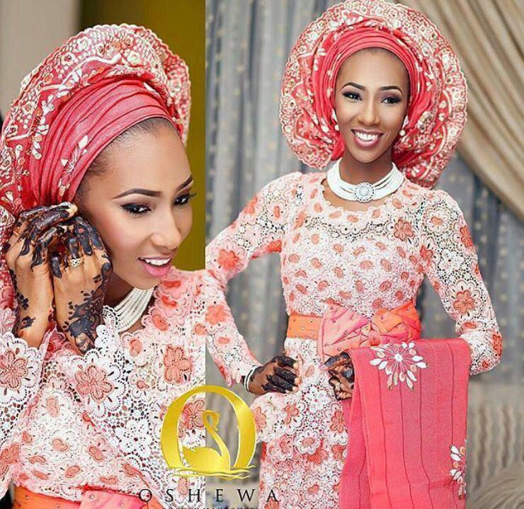 Nigerian Hausa bride with henna | West African culture & people ...