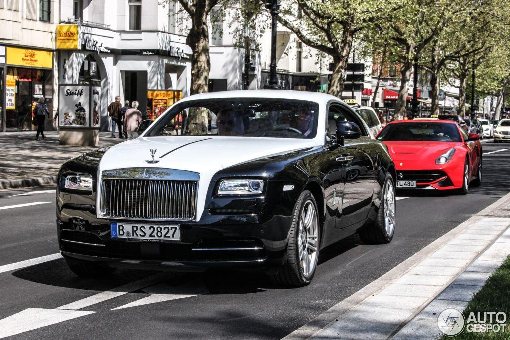 Rolls Royce Wraith In Berlin Germany