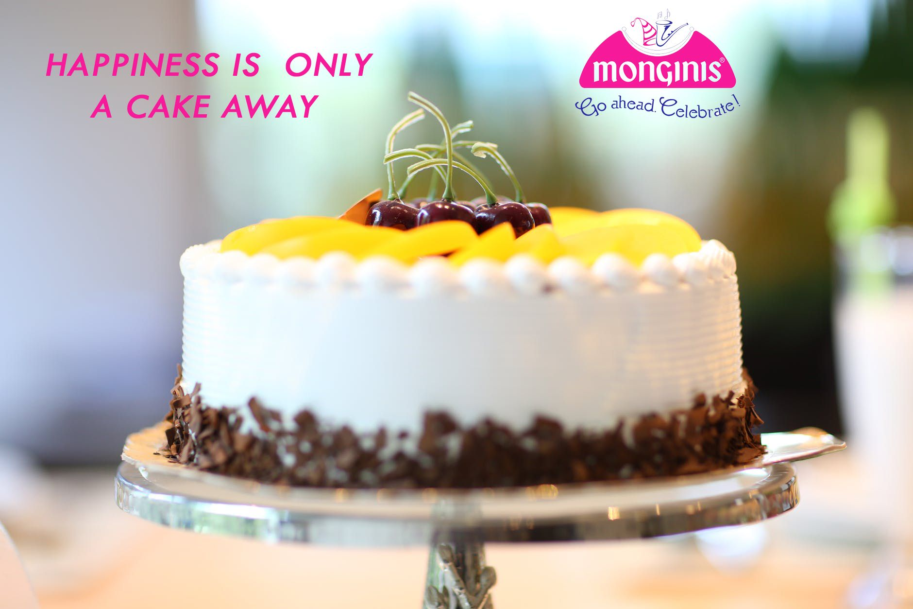 Best Cake Only at Monginis Happy birthday cakes