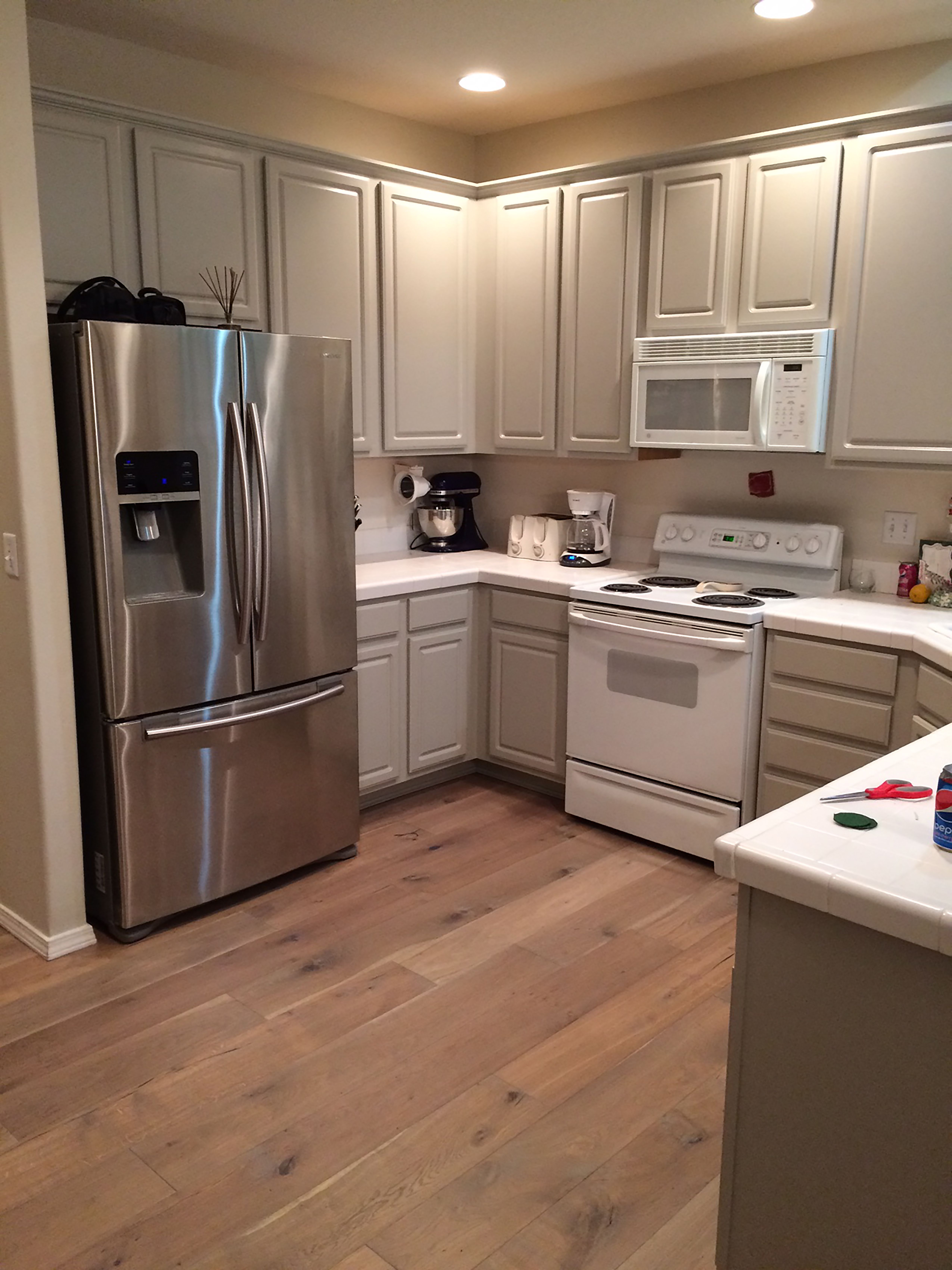 Alta Vista Hardwood Kitchen Remodel Small House Flooring Kitchen Flooring