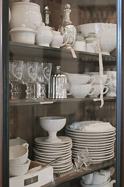 Not Sure What It Is About White Dishes That I Love So Much Kitchen Decor Home Kitchens