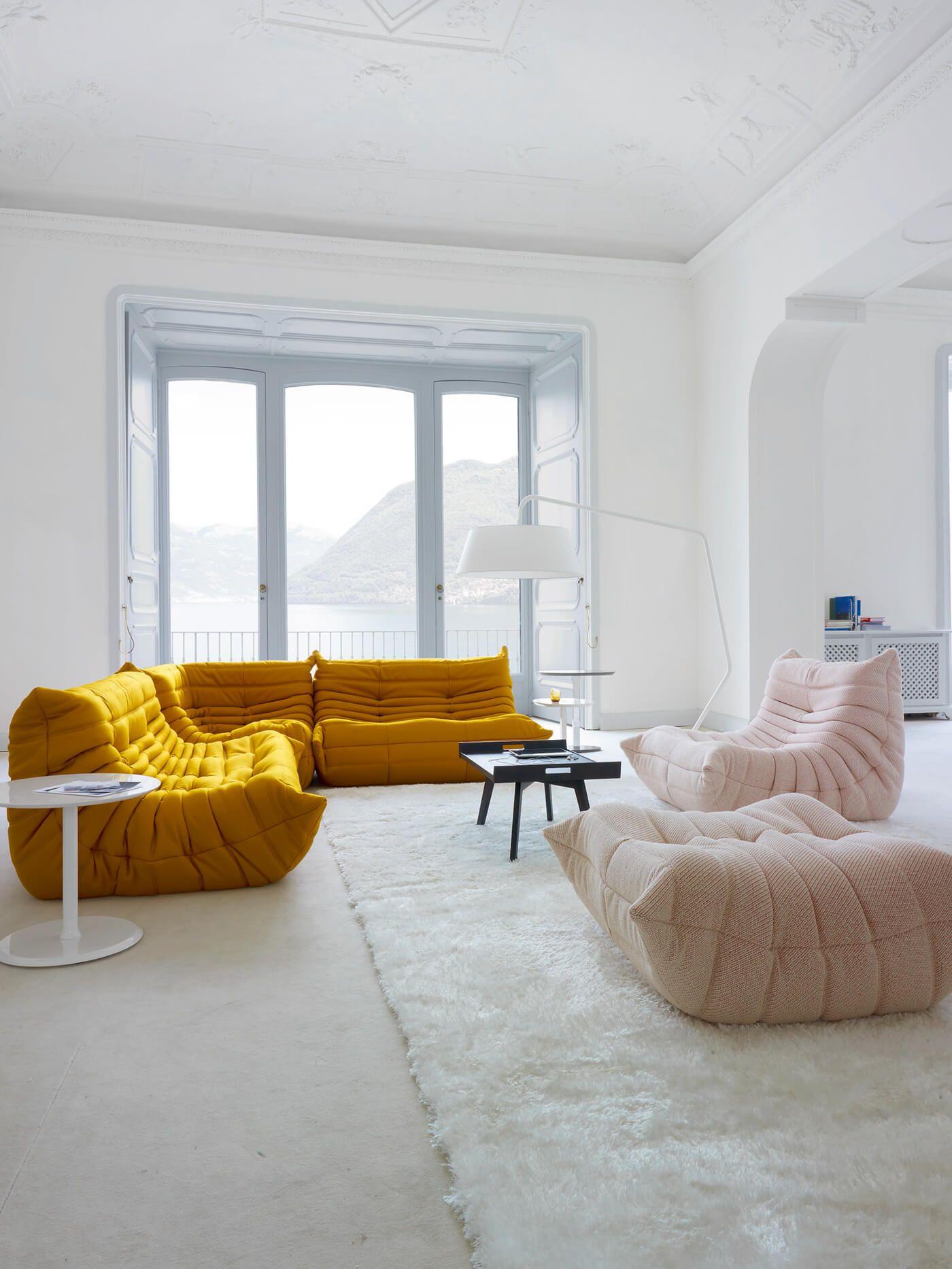 L Inimitable Canape Togo De Chez Ligne Roset Frenchy Fancy Deco Maison Canape Ligne Roset Mobilier De Salon