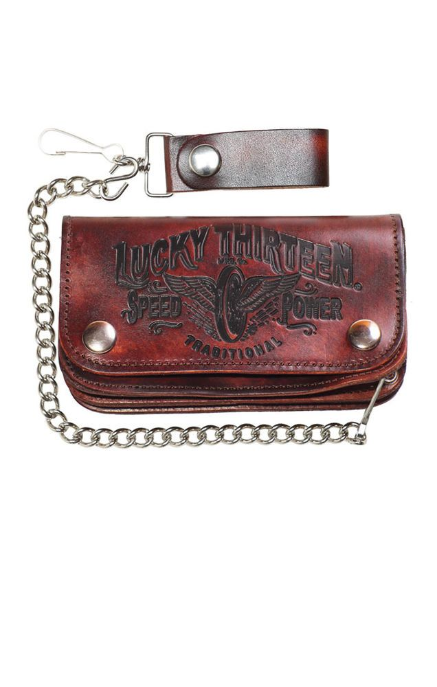 Lucky13 Wallet The Traditional Oldschool,Tattoo,Pin up,Rockabilly,Custom Styles