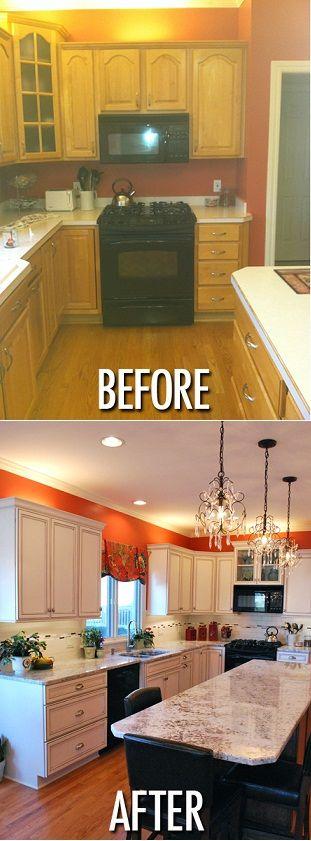 inde kitchen remodeling before after kitchen remodeling kitchen cabinetsamazing kitchen. Black Bedroom Furniture Sets. Home Design Ideas