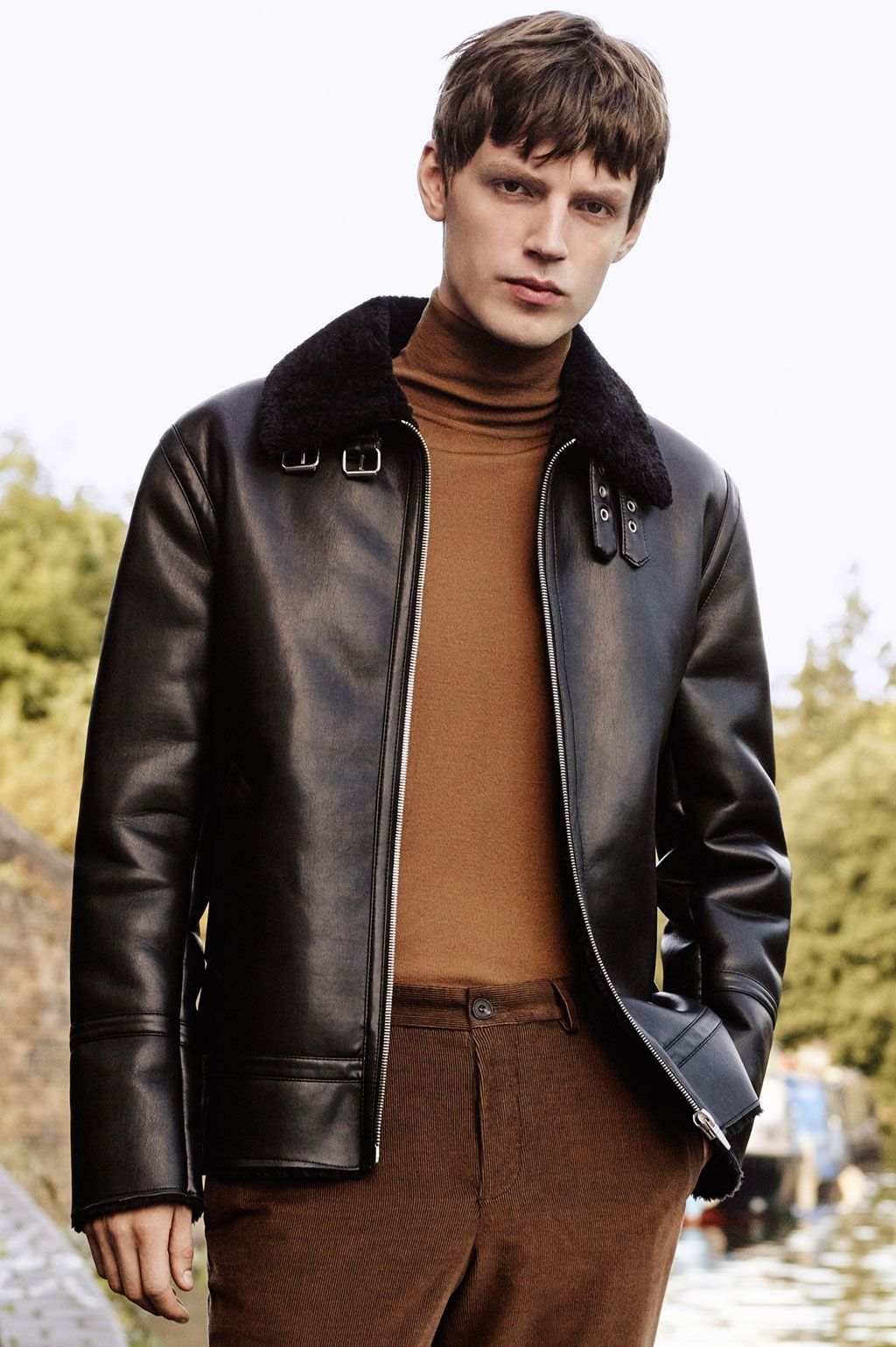 Image 1 of from Zara Winter outfits men, Mens fashion