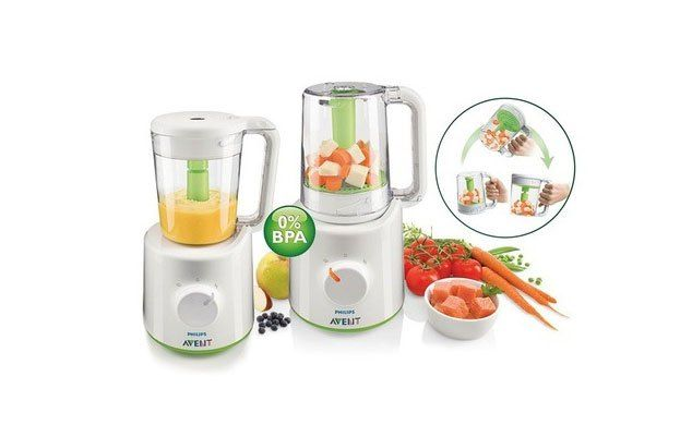 Philips Avent Combined Baby Food Steamer And Blender How