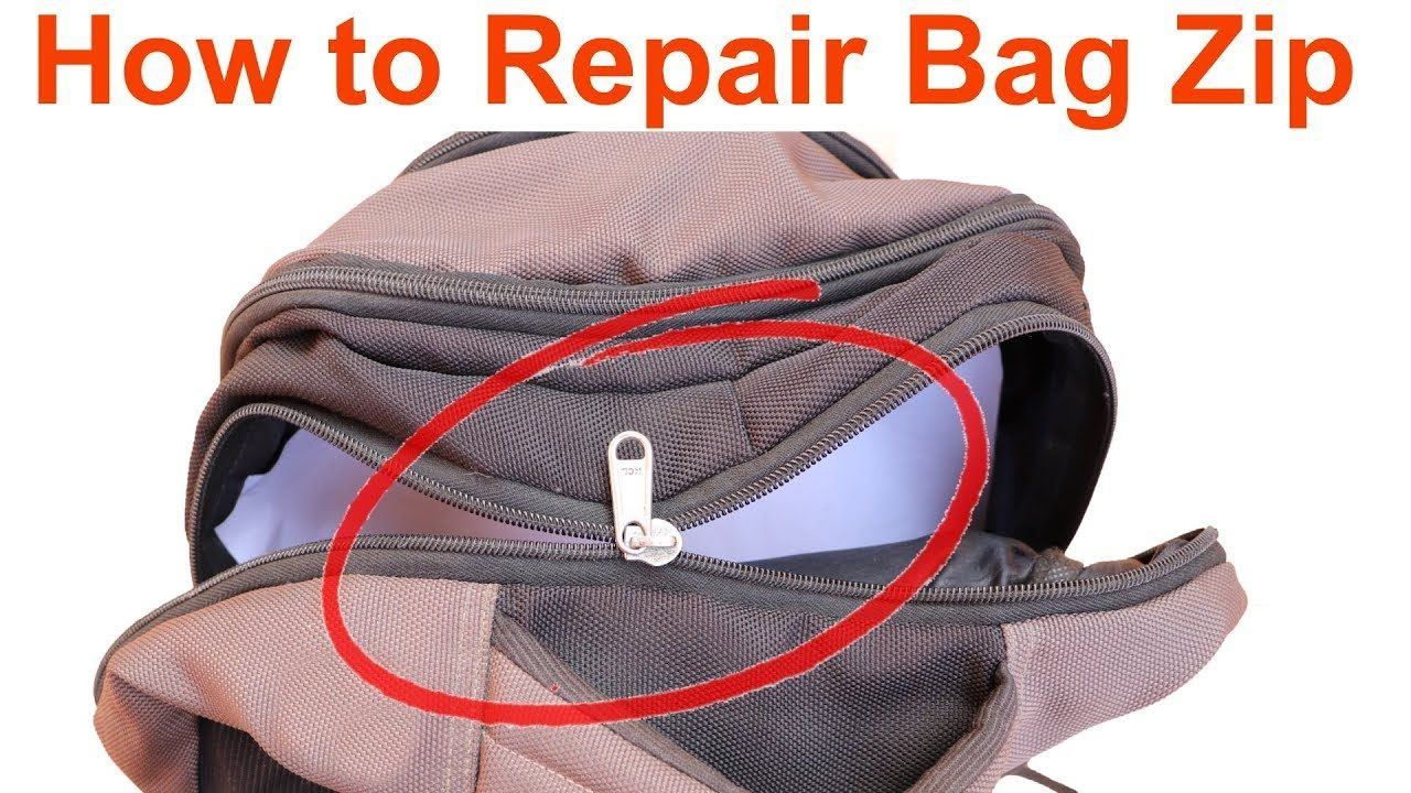 How To Repair A Bag Zip Help In Tamil Fix A Zipper Broken Zipper Bags