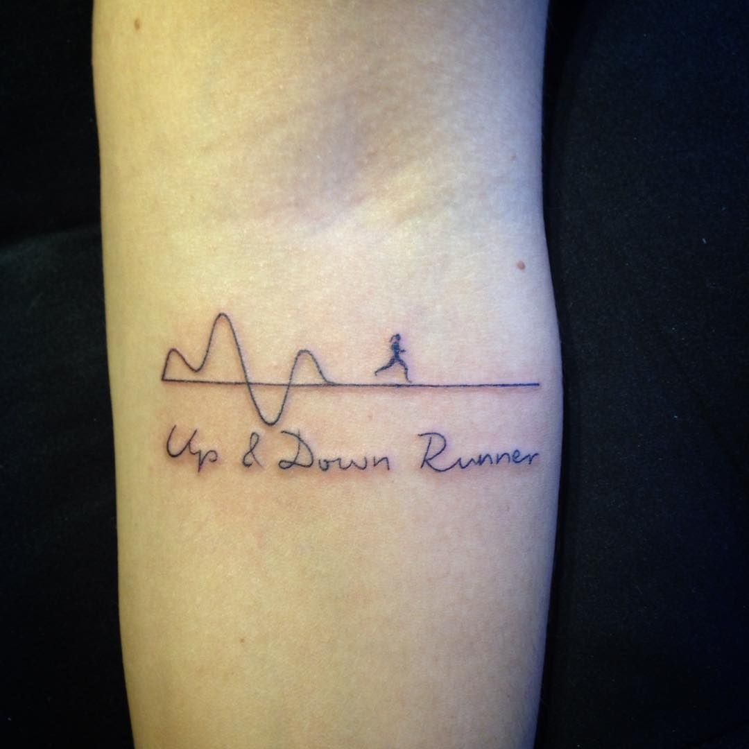 29 fitness inspired tattoos that show off your love for for Working man tattoo
