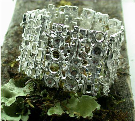 Regine Juhls, Tundra serie, silver cuff