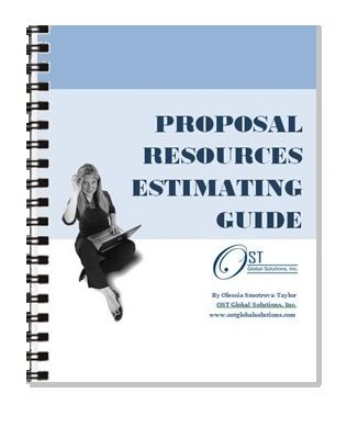 Proposal Resources Estimating Guide This Is A Handy Guide For