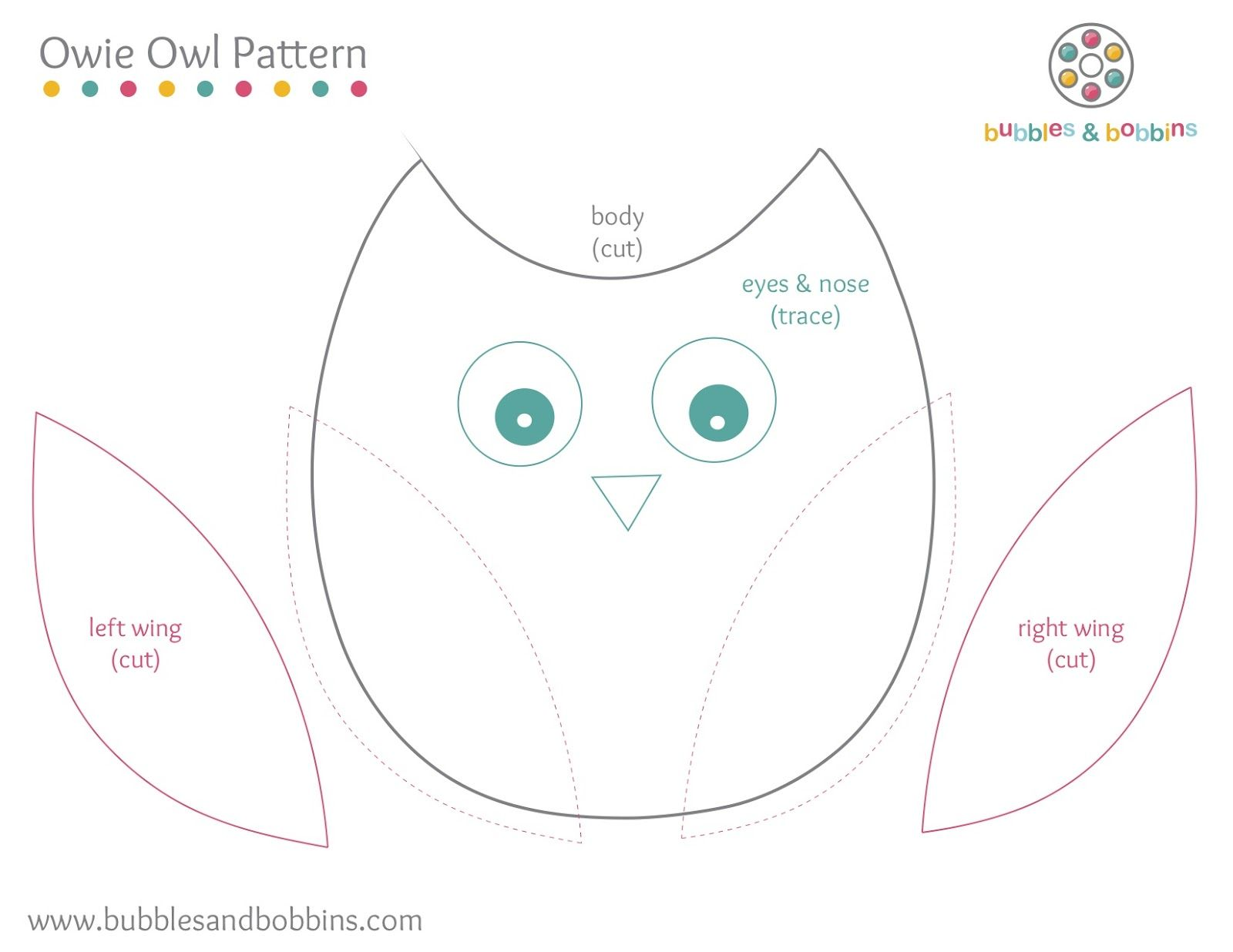 Google image result for for Owl templates for sewing