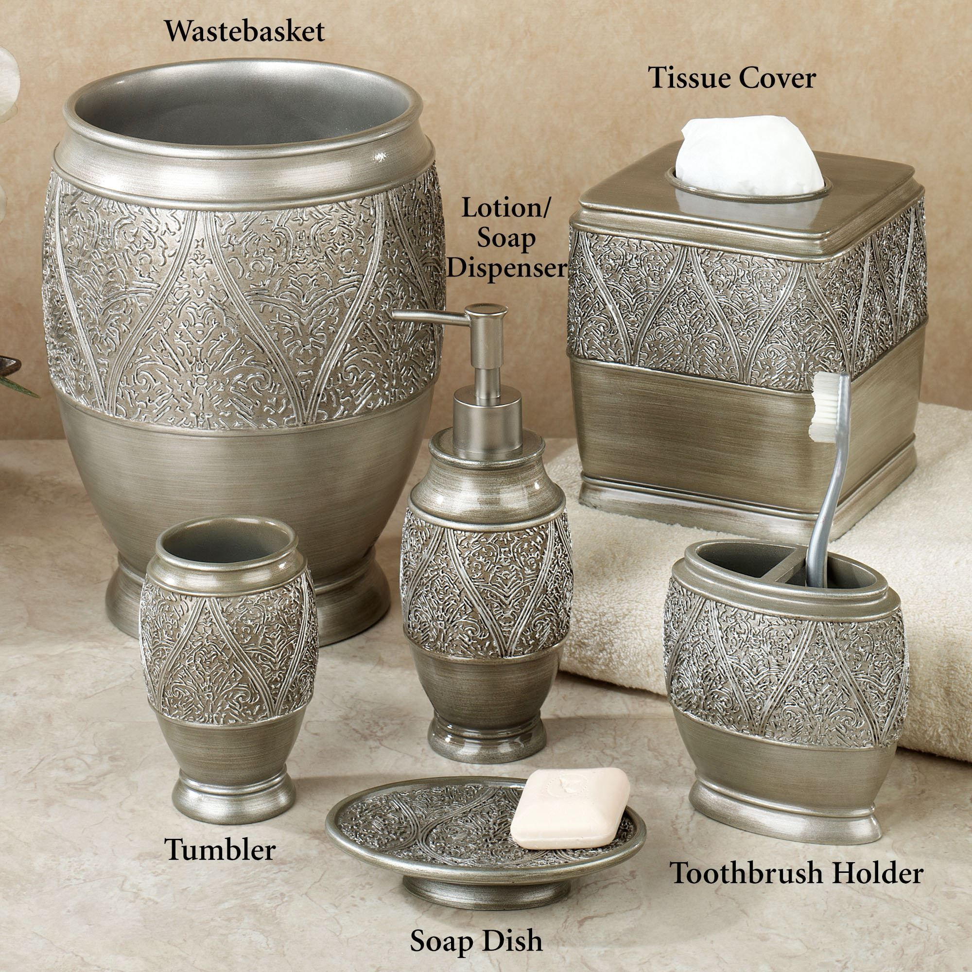 Moroccan bathroom accessories - Casablanca Moroccan Design Bath Accessories