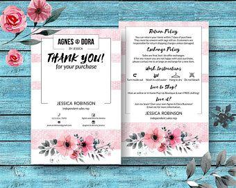 Agnes and dora thank you card clothing care exange policy agnes and dora thank you card clothing care exange policy agnes dora m4hsunfo