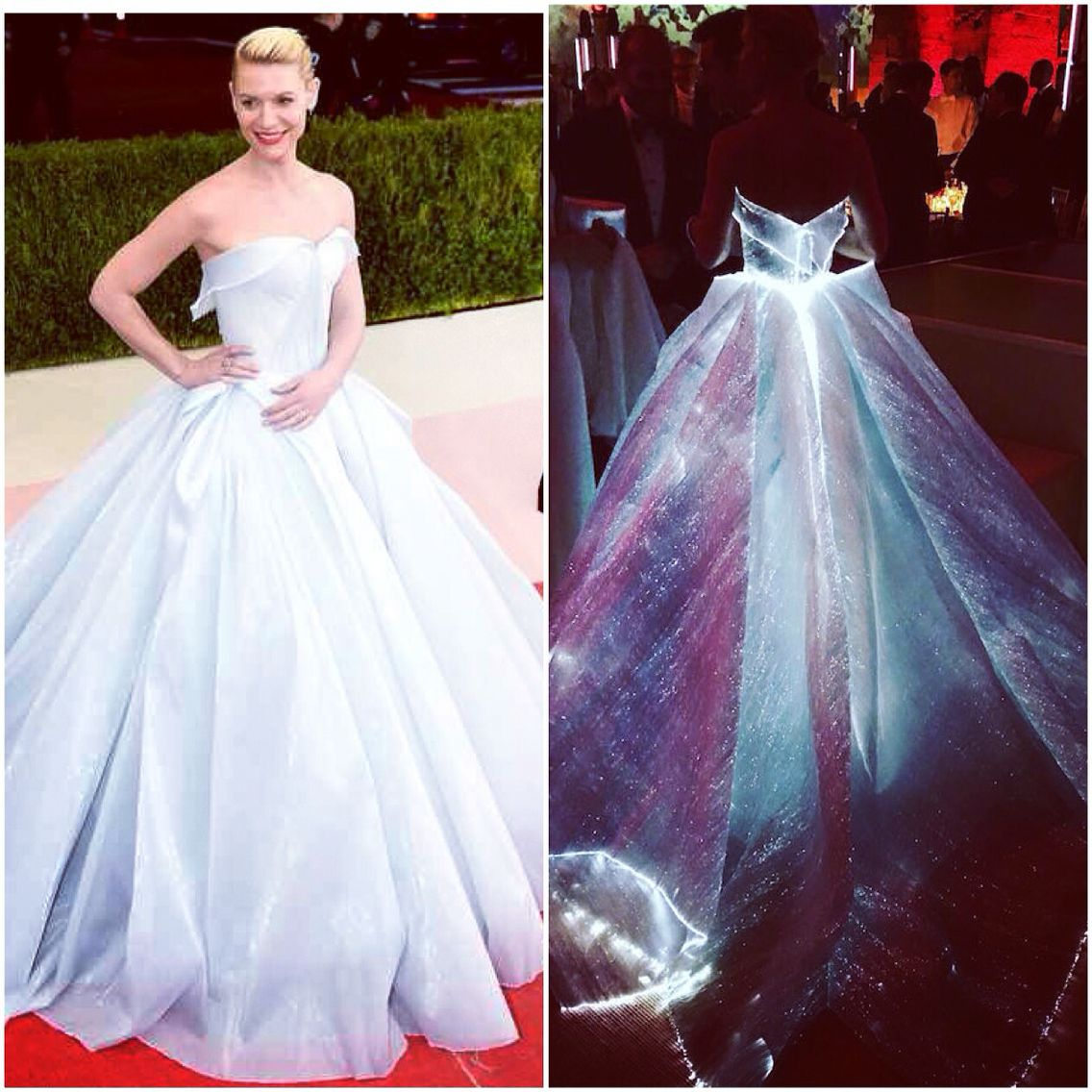 Everything About Claire Danes Met Gala Dress... Beautiful