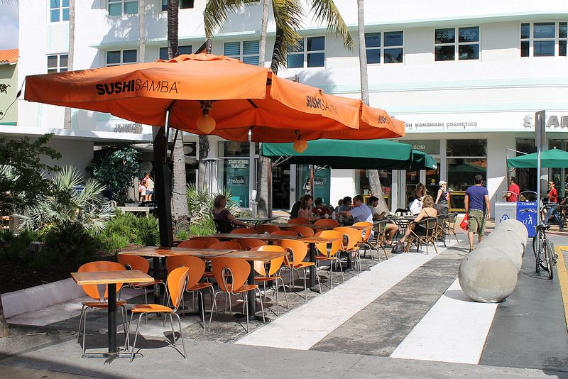 Sushi Samba Lincoln Road Mall Miami restaurants