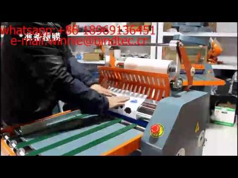 Fm8490 Fm8670 Automatic Wide Format Anti Curl Laminating Machine Hot Lam Book Binding Machine Laminated Machine Laminators