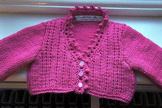 Little Ruby Cardie Sublime Pattern Httpknitsbysuespot