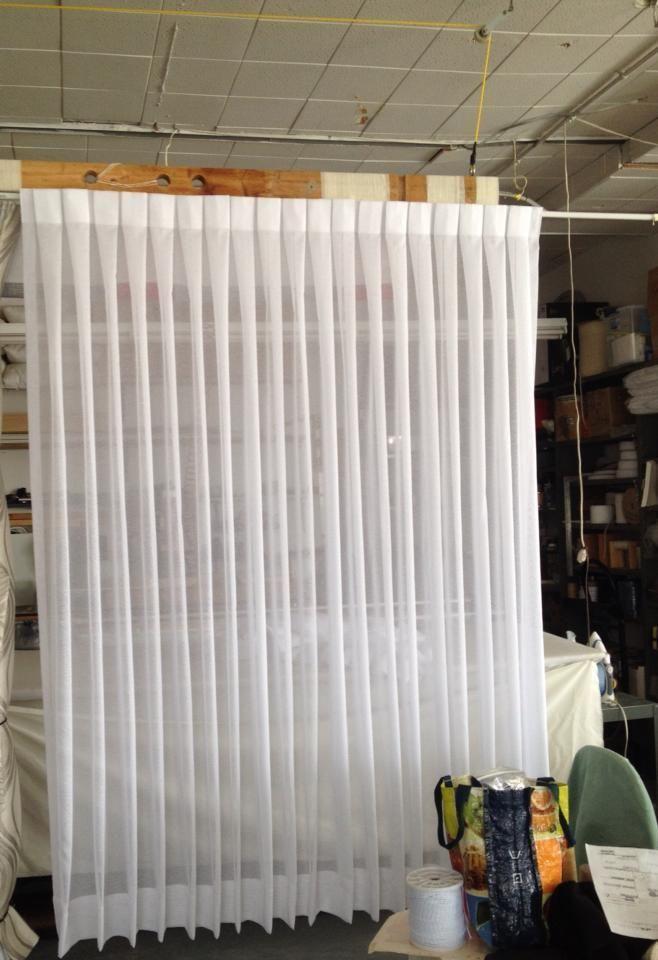 Box Pleated Sheer D