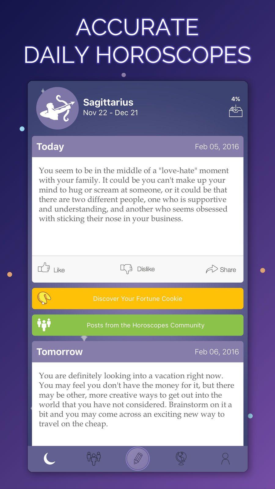 Horoscopes Daily Plus iosLifestyleappapps Horoscope