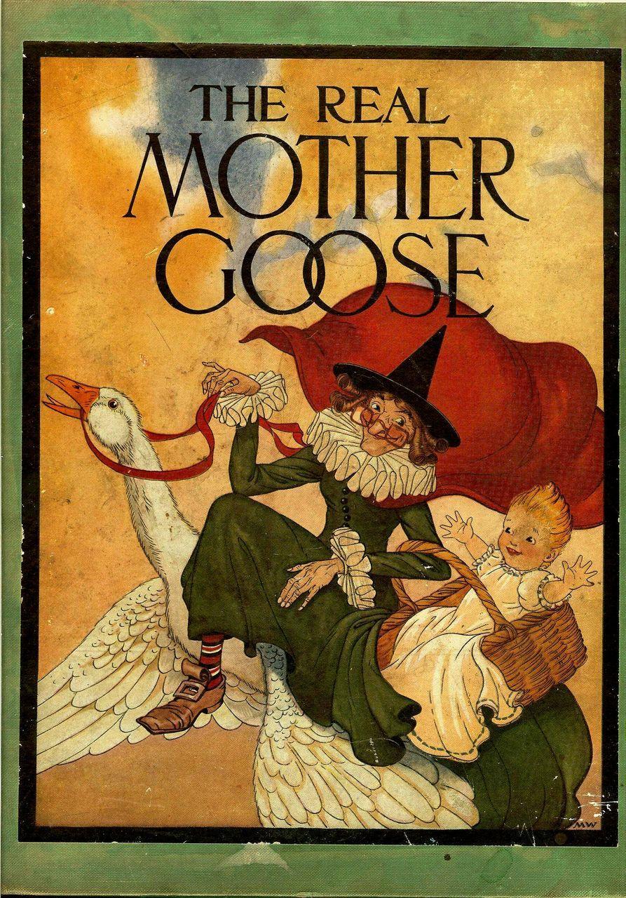 1936 Old Mother Goose Nursery Rhyme Book
