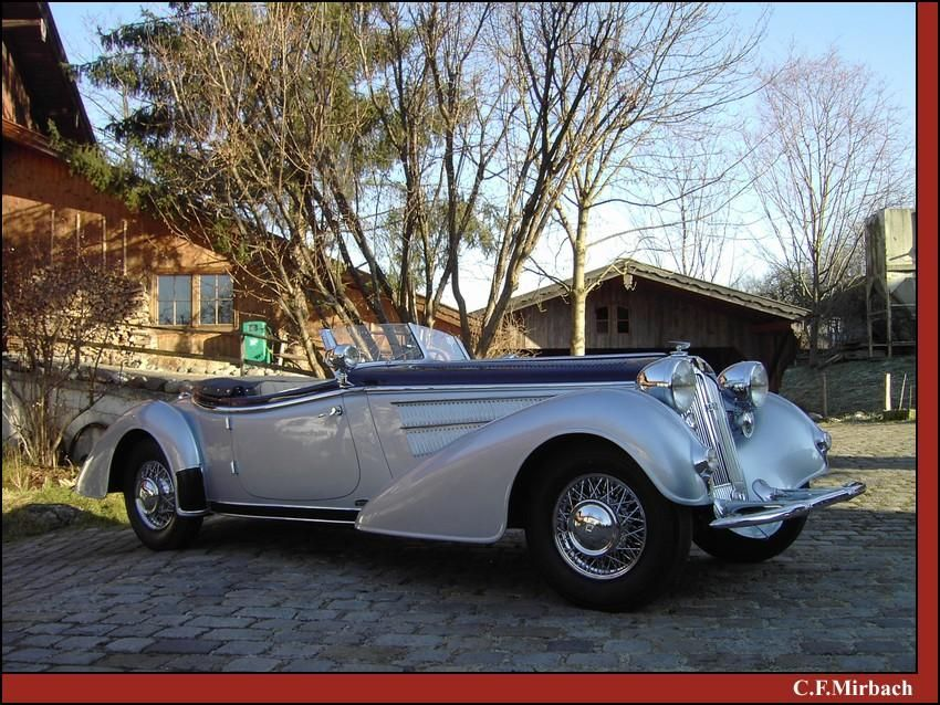 Horch 854 | Horch, DKW & Wanderer Cars | Pinterest | Car brands and Cars
