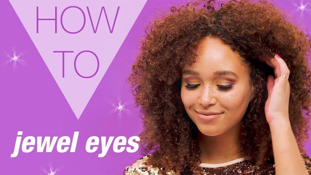 HOW TO | Jewel Eyes Makeup | XMAS | Tutorial | Christmas | Pinterest ...