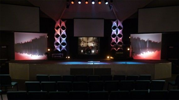 Check out materials used for the pillars | stage design | Pinterest ...
