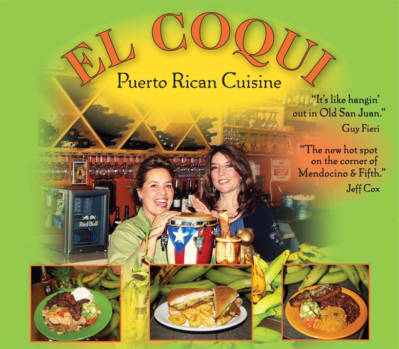 El Coqui, Santa Rosa, CA. This place has LEGIT vegan options. It was like being back east again, where I grew up with a lot of amazing Puerto Rican food.