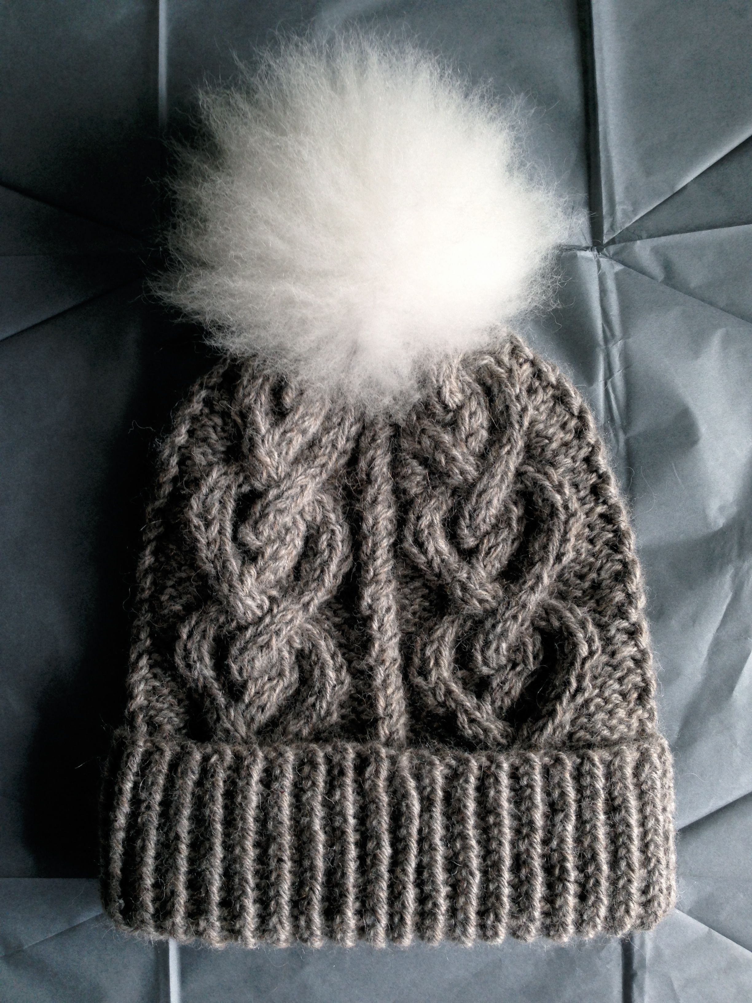 Take heart hat crochet and knits pinterest cable the ojays take heart hat my life in knitwear chunky grey heart cabled hat w pompom bankloansurffo Choice Image