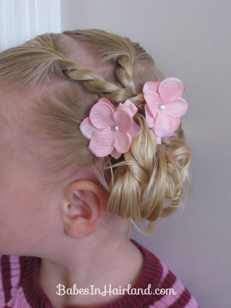 Hairstyles For Toddlers Brilliant Toddler Combo Hairdo 16  Little Girl Hairstyles  Pinterest