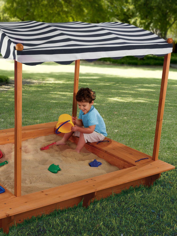 Outdoor Sandbox With Canopy by KidKraft at Gilt Sandbox