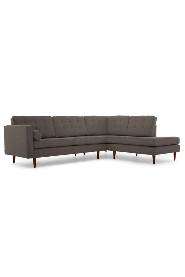 Braxton Sectional With Bumper Products Sofa Furniture