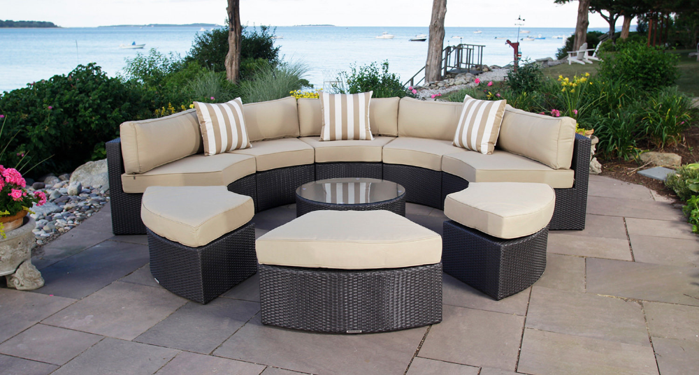 Santorini Outdoor Daybed Used