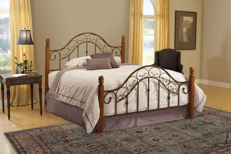 Hillsdale 310BQR San Marco Bed Set - Queen - w/Rails Bed sets and