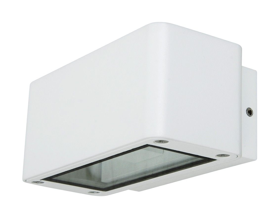Quality Home Exteriors: $170 Ledlux Banff Up/Down Exterior Wall Bracket In White