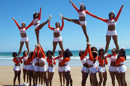 Morgan State Cheerleaders | The Morgan State University ...