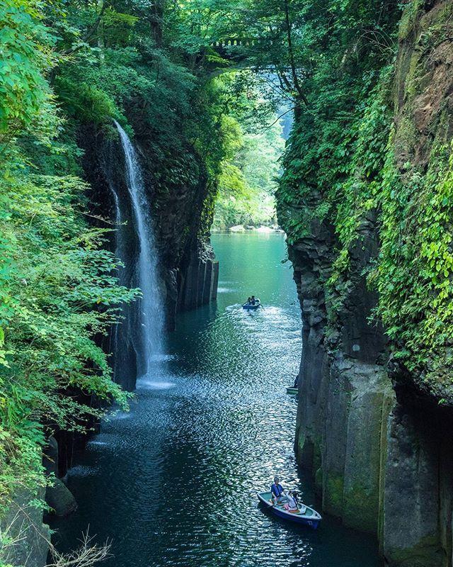 Beautiful Places In Japan Tumblr: Manai Falls, Miyazaki, Takachiho Gorge, Miyazaki, Japan