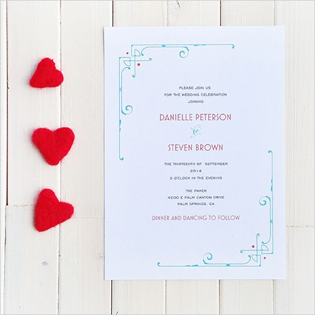 Create Your Own Wedding Invitations