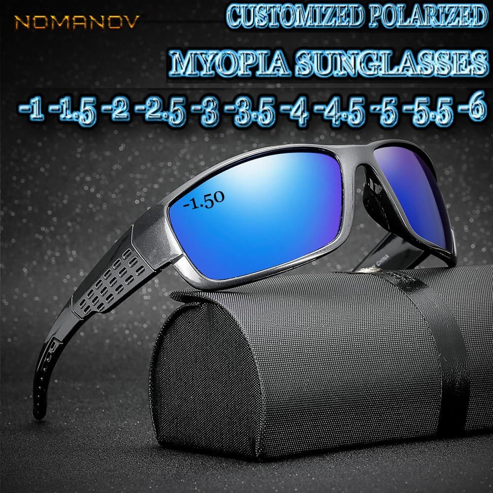 c744529b4b Custom Made Myopia Minus Prescription Polarized Lens Sports Style ...