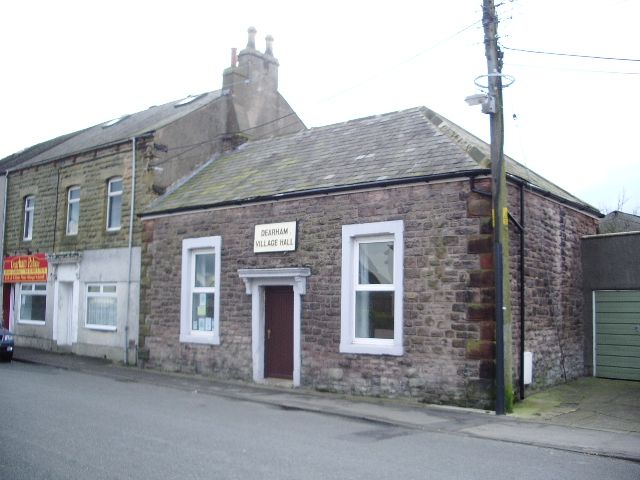 I lived for 15 years in Dearham, a largish village in West Cumbria not far inland from Maryport.