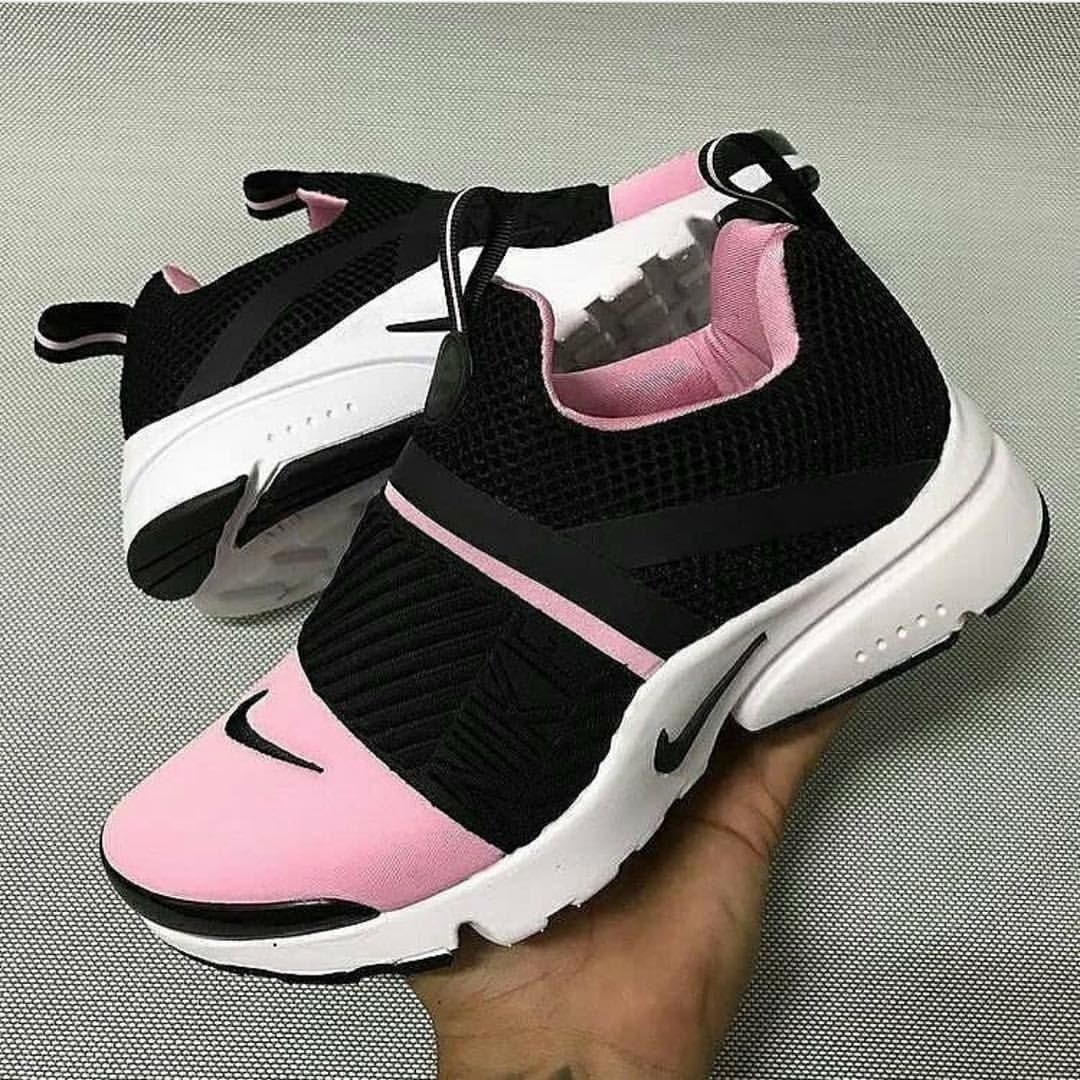 shoes running shoes nike nike shoes black and pink