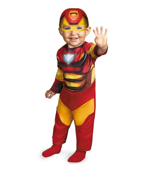 Loving this Iron Man Dress-Up Outfit - Infant on #zulily! #zulilyfinds