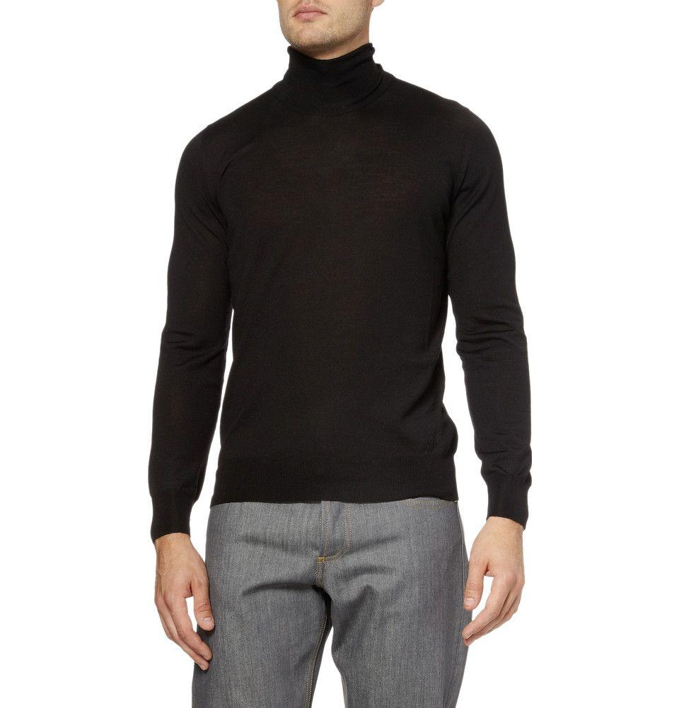 Yves Saint Laurent turtleneck sweater.  mens  fashion  YSL   Koala s ... d1edf1ed8e75